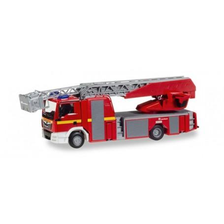 Herpa 092999 MAN TGS M Euro 6 Rosenbauer turnable ladder truck XS