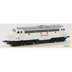 "B Models 920605 Diesellok NOHAB TMY 1150 ""Railcare"" med ljudmodul"
