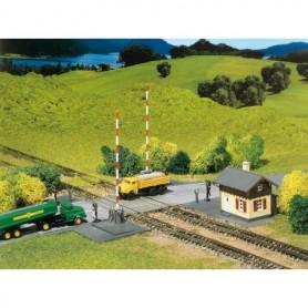 Faller 222169 Bevakad järnvägsövergång