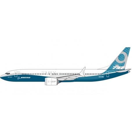 Herpa 611824 Flygplan Boeing (House Colors) Boeing 737 MAX 9 - N7379E