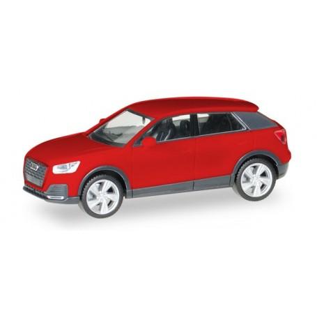 Herpa 038676.2 Audi Q2, tango red metallic