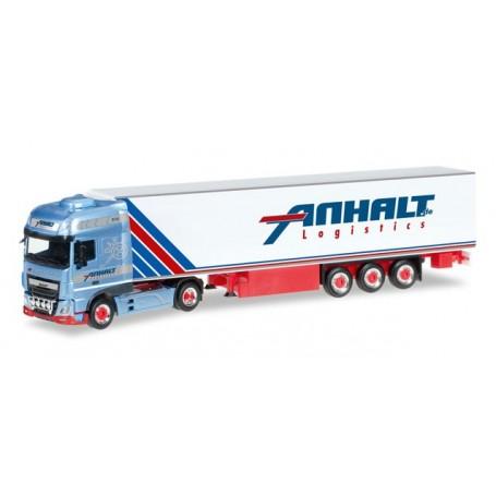 "Herpa 306348 DAF XF Euro 6 SSC refrigerated semitrailer ""Anhalt"""