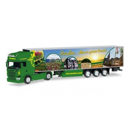 "Herpa 306324 Scania R TL refrigerated semitrailer ""Gellen"""
