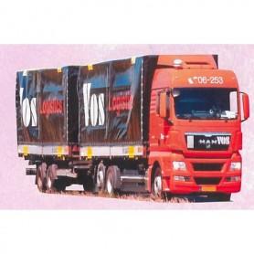 "AMW 74483 Bil & Släp MAN TGX XLX ""Vos Logistics"""