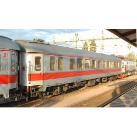 NMJ 204601 Personvagn 2:a klass B1 55 74 2073 922-8 Tågab