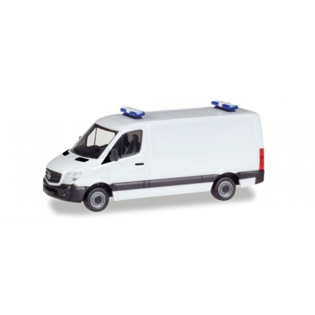Herpa 013314 Herpa MiniKit: Mercedes-Benz sprinter box-type flat roof
