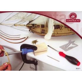 Constructo 80471 Verktygssats för att böja trä (med lödkolv)