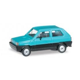 Herpa 027335.3 Fiat Panda, turquise blue