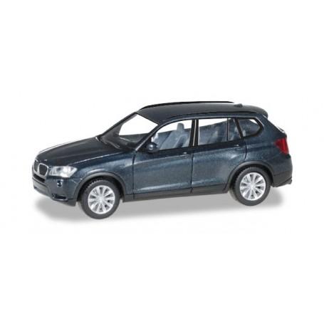 Herpa 034630.3 BMW X3™, saphir black metallic
