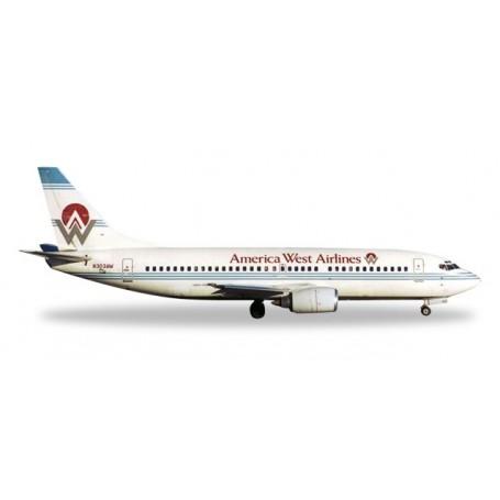 Herpa 500302.1 Flygplan America West Airlines Boeing 737-300 – n303Aw