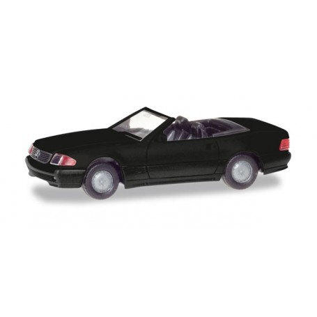 Herpa 013222 Herpa MiniKit: Mercedes-Benz 500 SL (R129), black