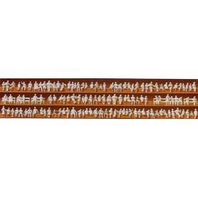 Preiser 79007 Omålade figurer, sittande, 120 st