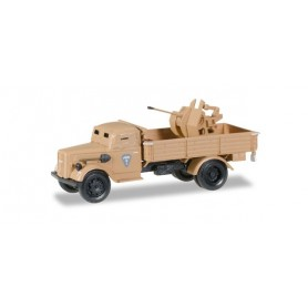 Herpa 745789 Opel Blitz LKW armored with 20mm cannon