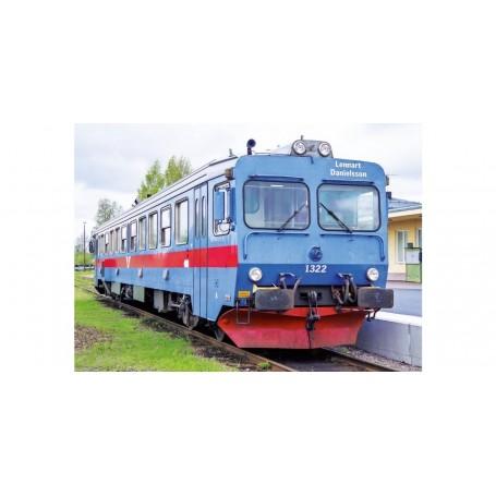 "NMJ 93006 Dieselmotorvagn SJ Y1 1322 ""Lennart Danielsson"", Inter-Regio, DC"