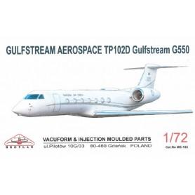 Broplan MS165 Flygplan Gulfstream Aerospace TP102D G550