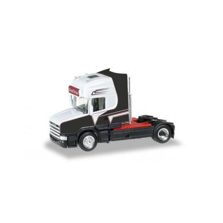"""Herpa 306522 Scania Hauber rigid tractor """"Grohganz"""""""