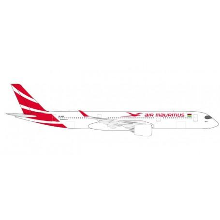 """Herpa 531184 Flygplan Air Mauritius Airbus A350-900 - 3B-NBQ """"Pieter Both"""""""