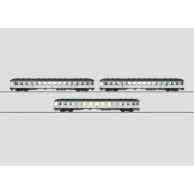 """Märklin 58341 Personvagnsset med 3 st vagnar """"Silberling/Silver Coins"""""""