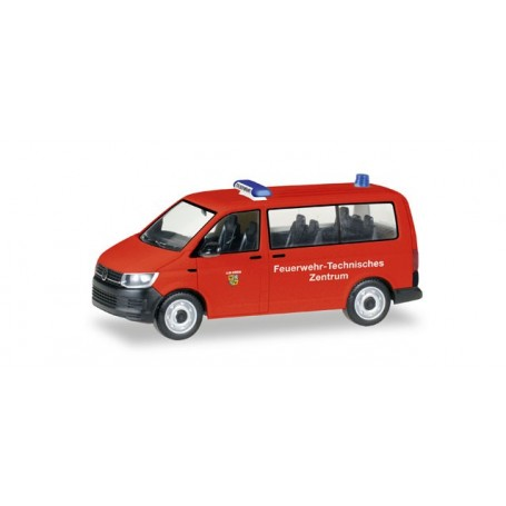 "Herpa 093392 VW T6 Bus ""Feuerwehr Ilmkreis / Thüringen"""