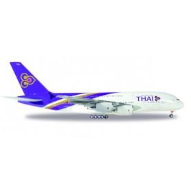 Herpa 556774.1 Flygplan Thai Airways Airbus A380-800
