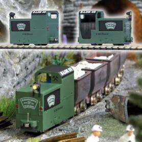 """Busch 5011 Gruvlok i grönt utförande """"Schaubergwerk Kupferplatte"""""""