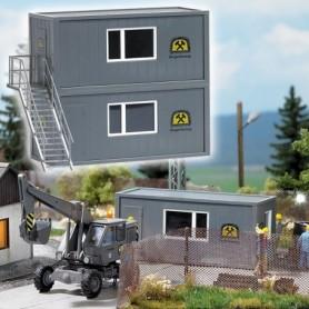 "Busch 1032 Containersset för gruvbygget ""Mine Security"""