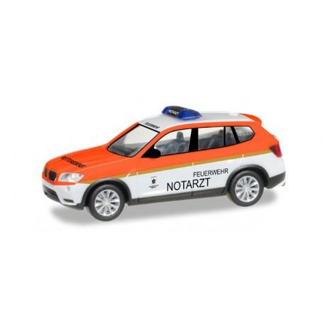 """Herpa 093378 BMW X3 """"Feuerwehr München / Notarzt"""""""