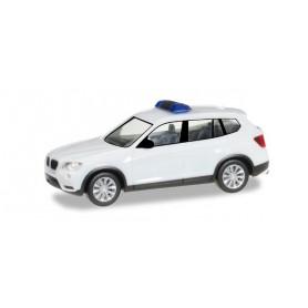 Herpa 013130 Herpa MiniKit: BMW X3, white / unprinted