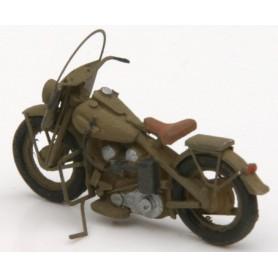Artitec 87033 Motorcycle U.S. Military, byggsats i resin