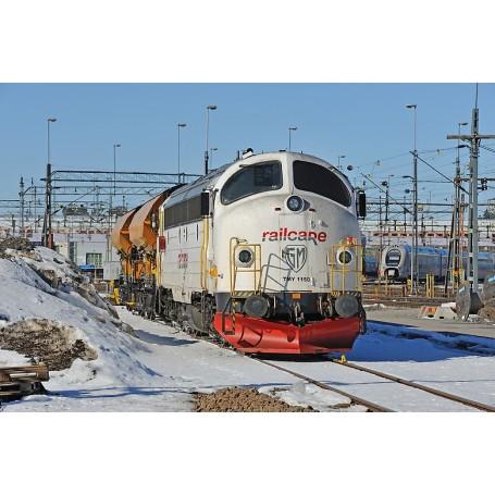 """NMJ 91502 Diesellok TMY 1150 """"Railcare"""", med ljuddekoder"""