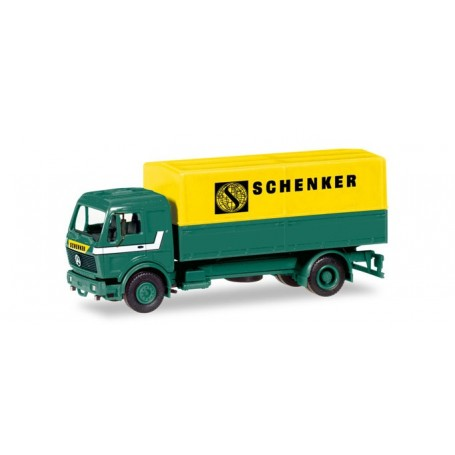 """Herpa 013321 Herpa MiniKit: Mercedes-Benz canvas trailer """"Schenker"""""""