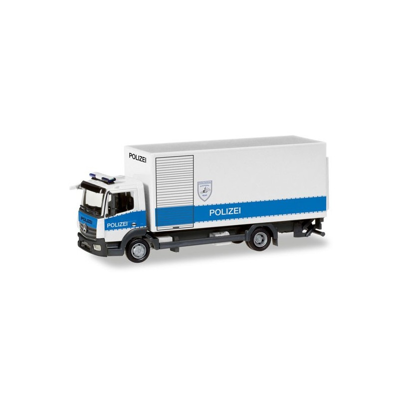Herpa 093538 Mercedes-Benz Atego Box Truck With Liftgate