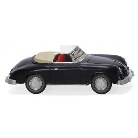 Wiking 16039 Porsche 356 Cabrio - black