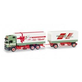 "Herpa 307949 MAN F 2000 HD Interchangeable pick-up truck ""Wandt / Das 100ste Herpa Modell"""
