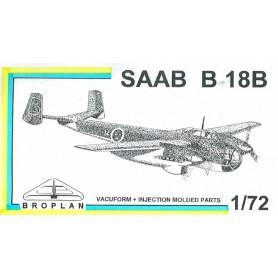 Broplan MS34 Flygplan SAAB B18B