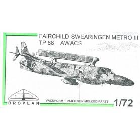 Broplan MS41 Flygplan Fairchild Swearingen Metro II TP 88 AWACS
