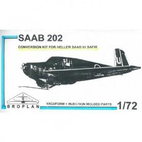 Broplan MS57 Conversion kit SAAB 202