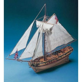 Corel SM38 HMS Resolution 17th Century Cutter