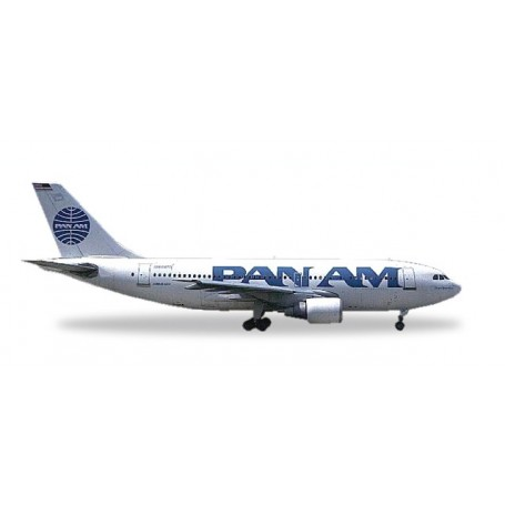 """Herpa 500920.1 Flygplan Pan Am Airbus A310-200 - 25 YEARS Herpa Wings Edition - N806PA """"Clipper Betsy Ross"""""""