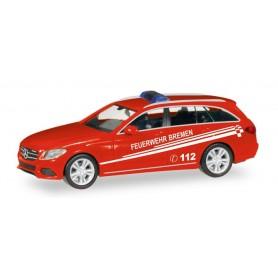 """Herpa 093583 Mercedes-Benz C-Class T-Modell """"Feuerwehr Bremen"""""""