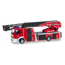 "Herpa 093248 Mercedes-Benz Atego turnable ladder ""Feuerwehr Nittenau"""