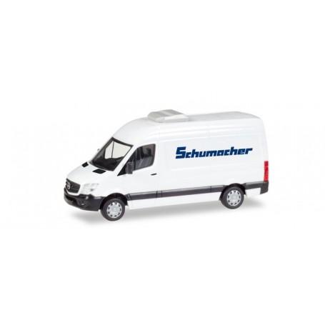 """Herpa 093606 Mercedes-Benz sprinter box """"Spedition Schumacher"""""""