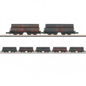 Märklin 82801 Vagnsset med 5 självavlossande vagnar OOtz 43 typ DB