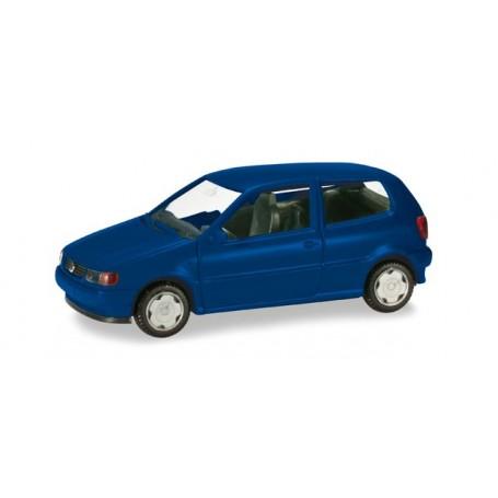 Herpa 012140.5 Herpa MiniKit: VW Polo, ultramarine blue