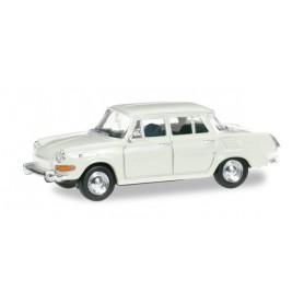 Herpa 024716.4 Skoda 1000 MB ( SKODA AUTO a.s. ®), gray-white