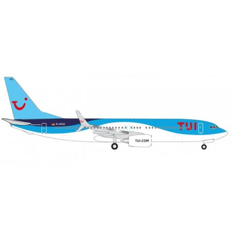 Herpa 526692.2 Flygplan TUIFly Boeing 737-800 (new 2014 colors)