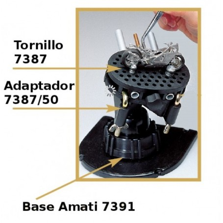 Amati 7387.50 Adapter for Gripper vice support