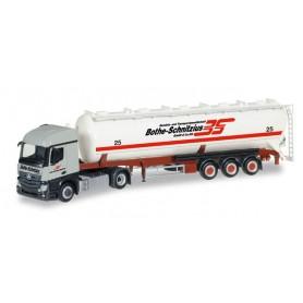 """Herpa 306331 Mercedes-Benz Actros Streamspace 2.3 ADR silo semitrailer """"Bothe-Schnitzius"""