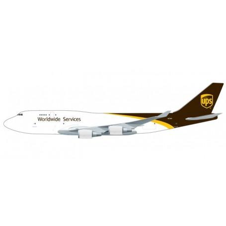 Herpa 611916 Flygplan UPS Airlines Boeing 747-400F - N579UP, snap-fit