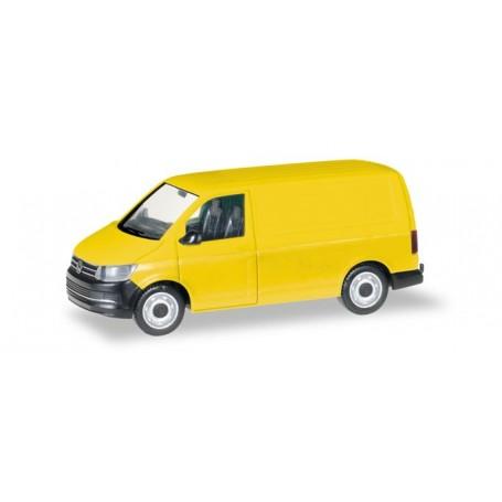 Herpa 013277 Herpa MiniKit: VW T6 box-type, yellow